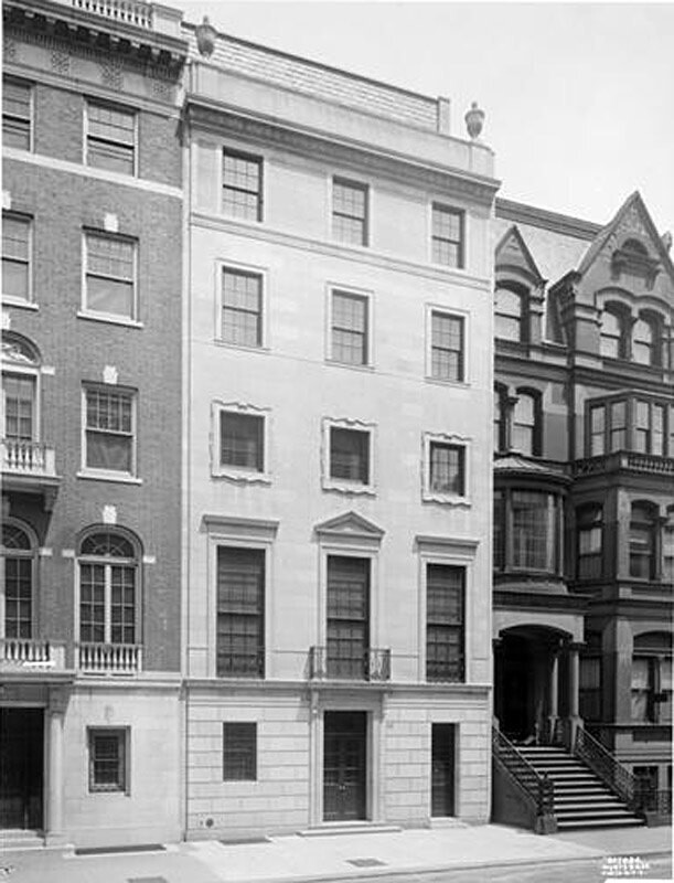 11 East 69th Street. Dr. Lancashire residence