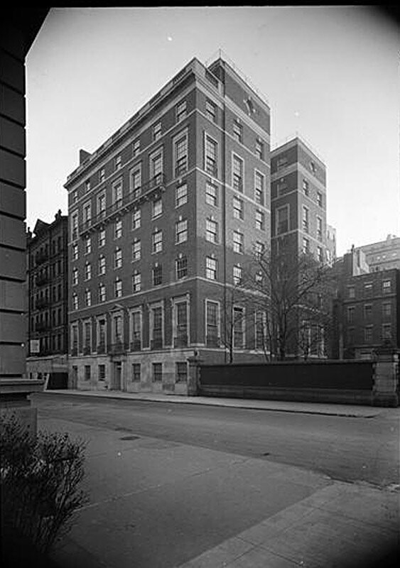 Miss Spence's School. Located at 22 East 91st Street