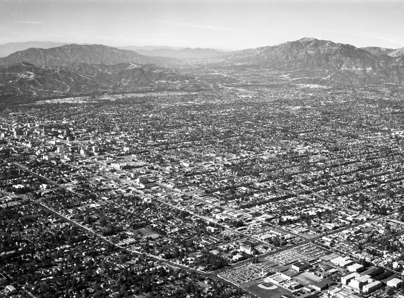 Pasadena, looking northwest