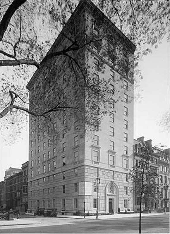 927 5th Avenue at the S.E. corner of 74th Street. Apartment house.