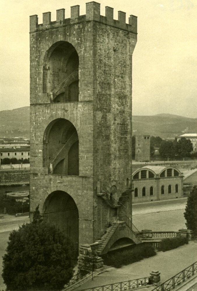 Florence, Italy, Tower of San Nicolo