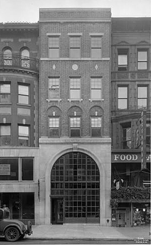134 West 72nd Street. L.J. Phillips and Co., new building.