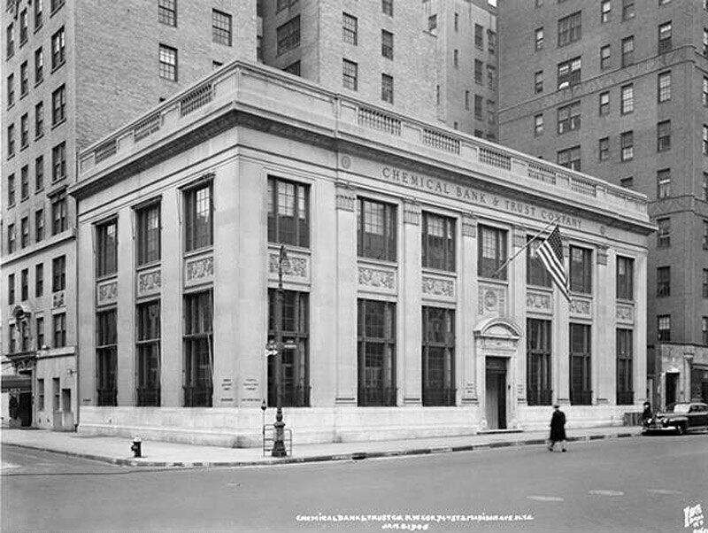 74th Street and Madison Avenue, N.W. corner. Chemical National Bank and Trust Co.