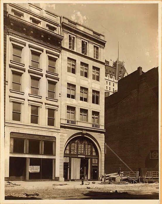 31-33 West 57th Street, north side, east of Sixth Avenue. No. 31