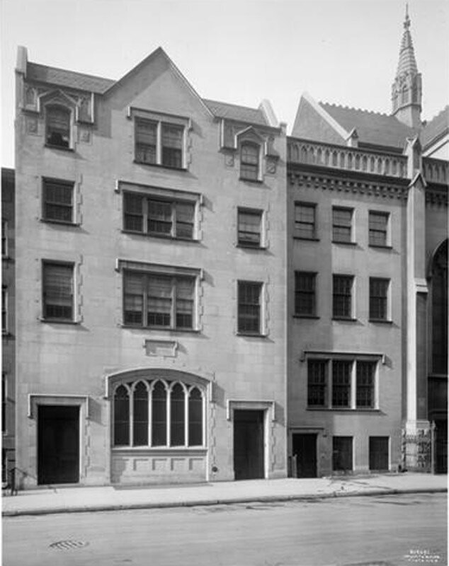 130-34 East 54th Street. St. Peter's Parish House.