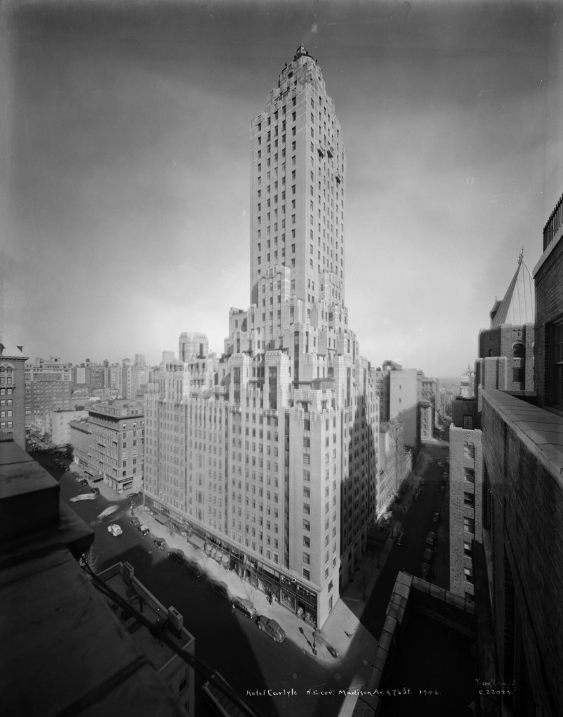 Hotel Carlyle, northeast corner of Madison Avenue & 76th Street