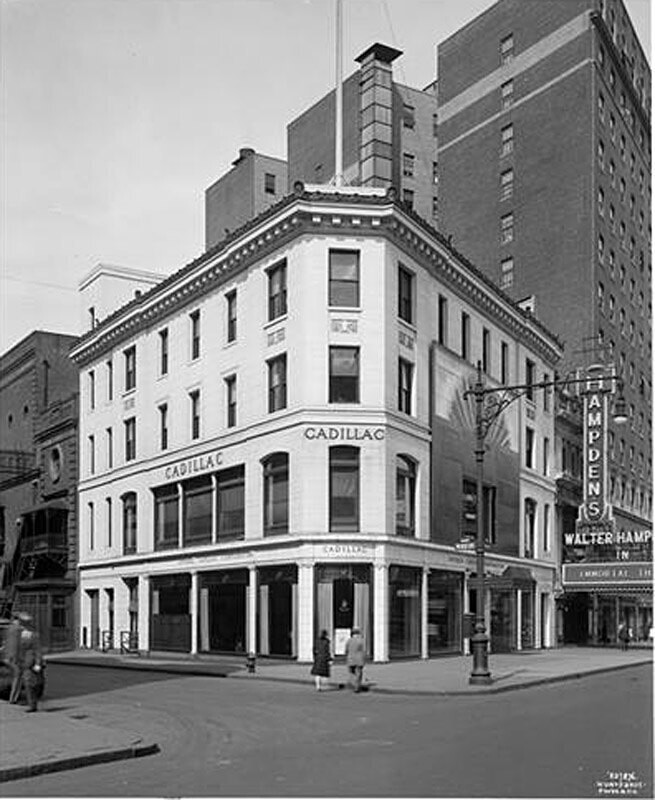 62nd Street and Broadway, N.W. corner. Cadillac Building.