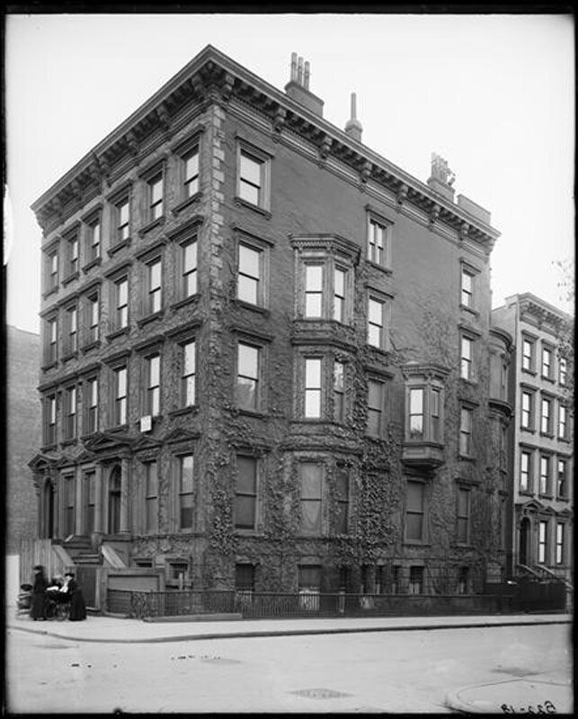 House of John L. Cadwalader. 3 East 56th Street