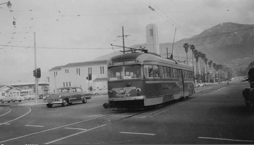 Glendale Pacific Electric car