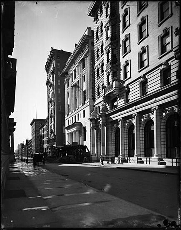 Construction of Harmonie Club. 4 East 60th Street