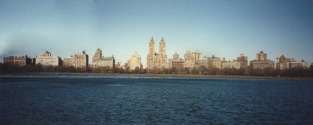 The Reservoir in Central Park, New York