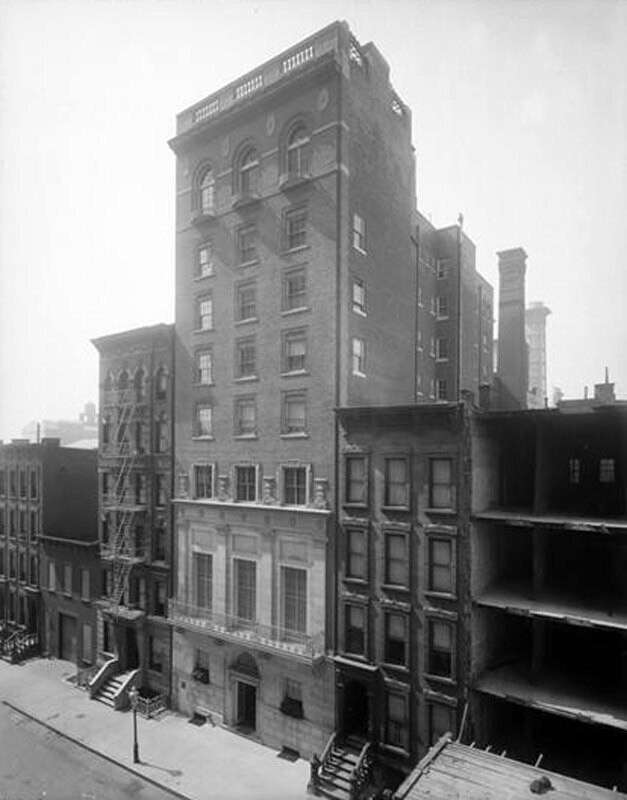 106 East 52nd Street. Women's University Club, general view.