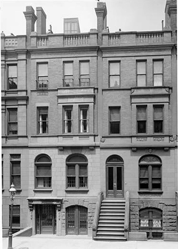 117 West 86th Street. H.A. Jacobs residence.