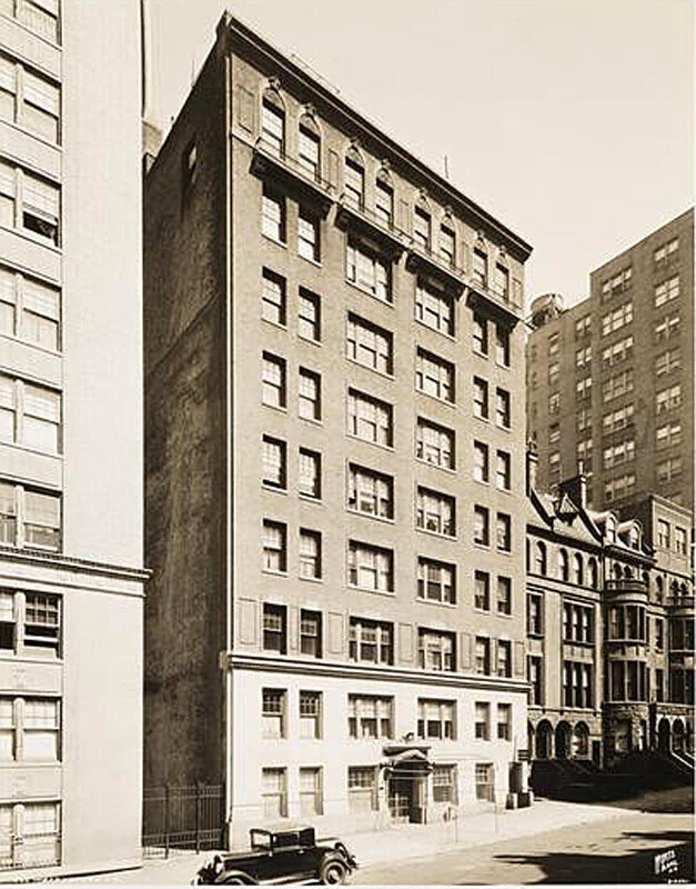 325 West 77th Street. Apartment building