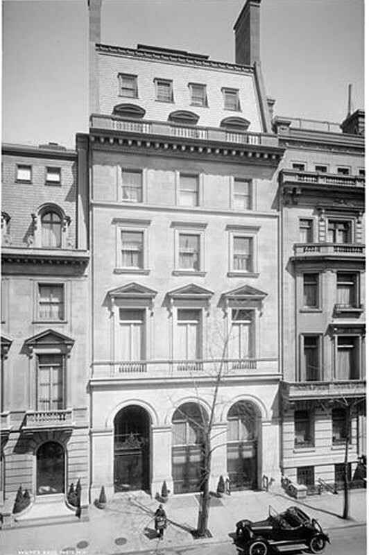 7-9 East 70th Street. Dr. Walter B. James residence.