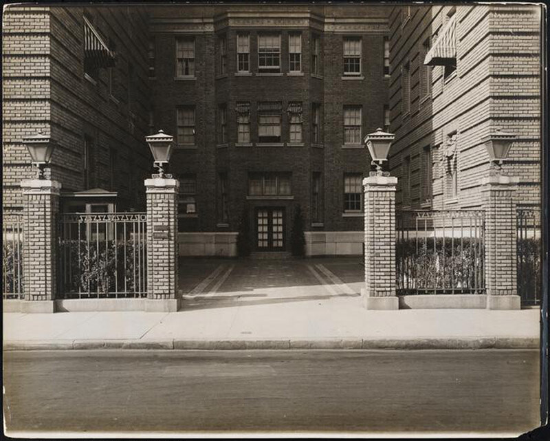 1 West 64th Street. Harperly Hall. Entrance
