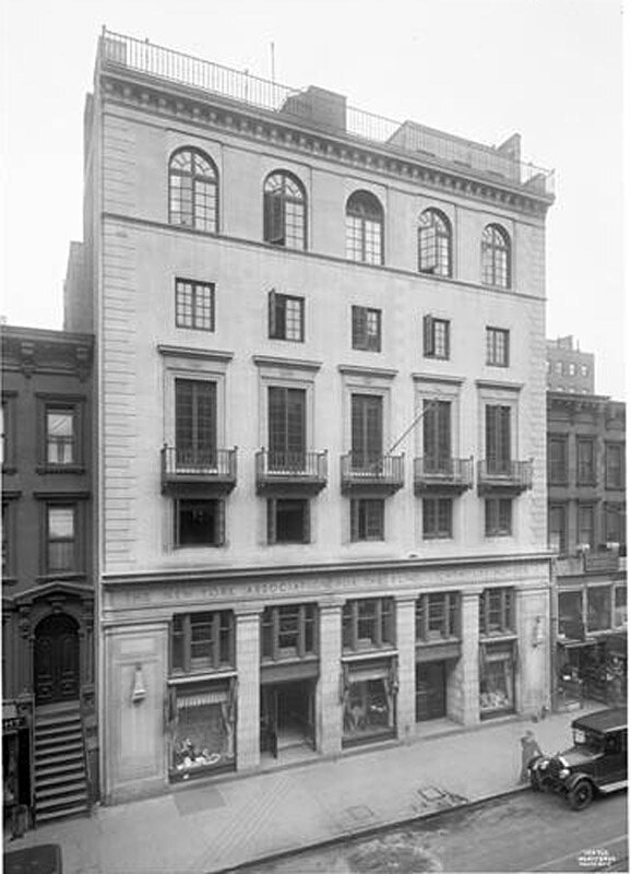 111-115 East 59th Street. N.Y. Institute for the Association for the Blind.