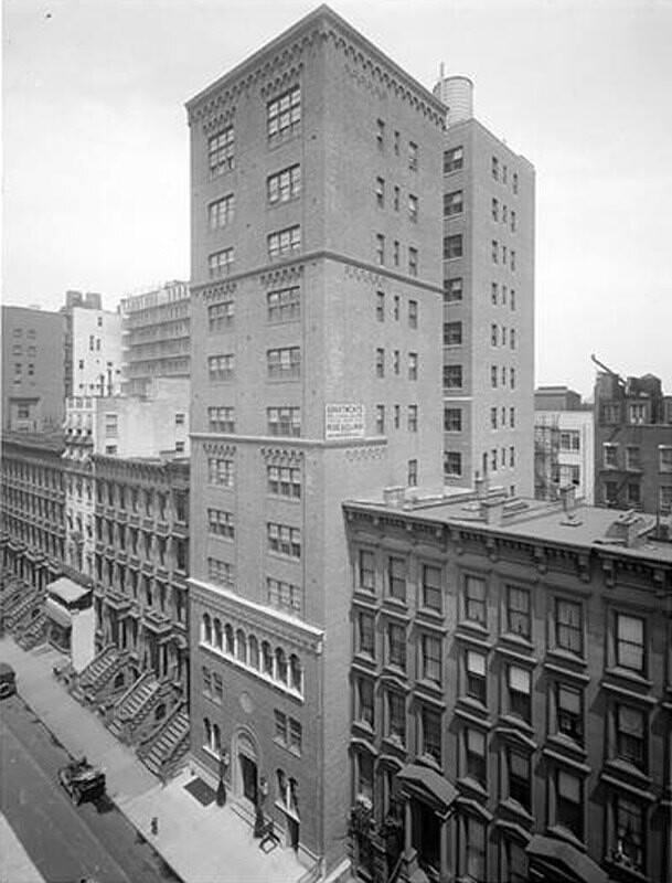 West 58th Street. Cochran [Apartments].