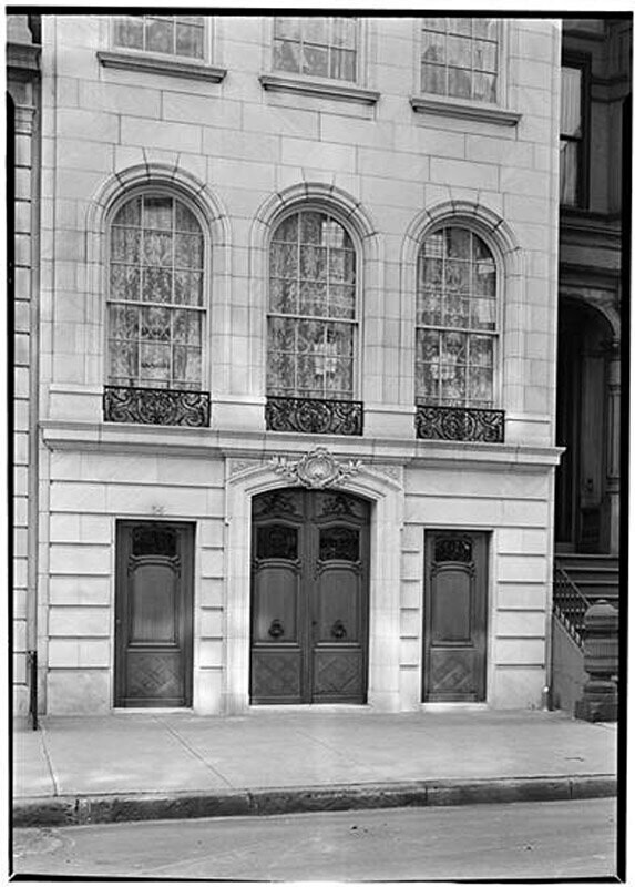 34 East 69th Street. Charles W. Watson [residence]