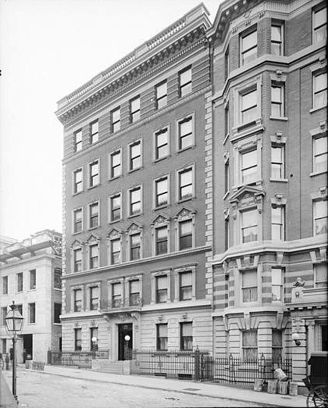 306-308 West 80th Street. Leyland apartment house.