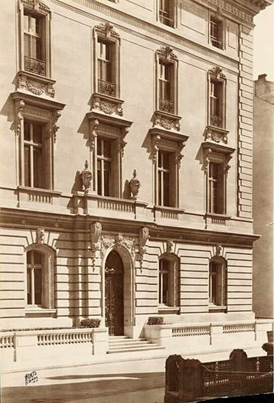 East 67th Street and Fifth Avenue, northeast corner. George Gould residence