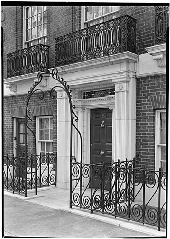 Walter J. Salmon [residence], 16 East 69th Street.