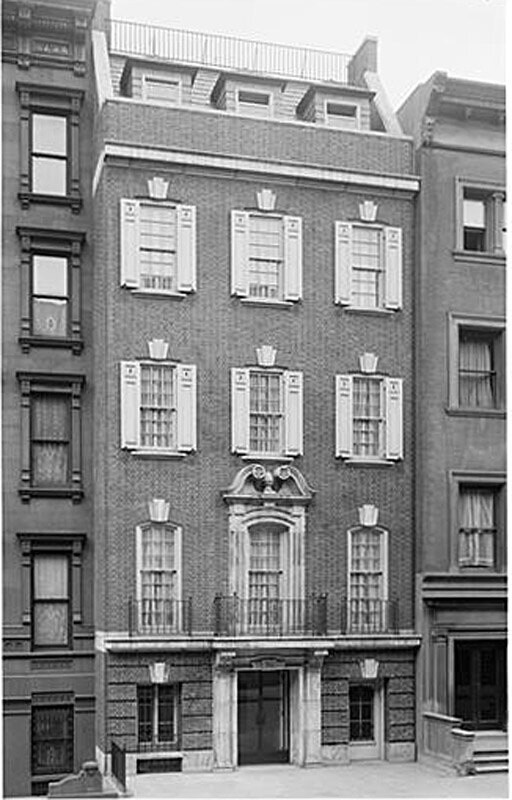 36 East 75th Street. General exterior, finished building.