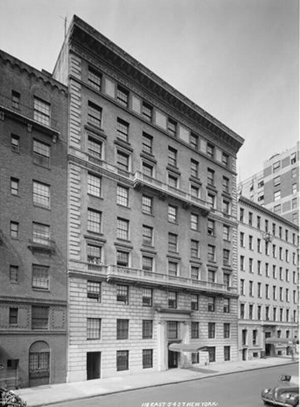 118 East 54th Street. Apartment building for sale.