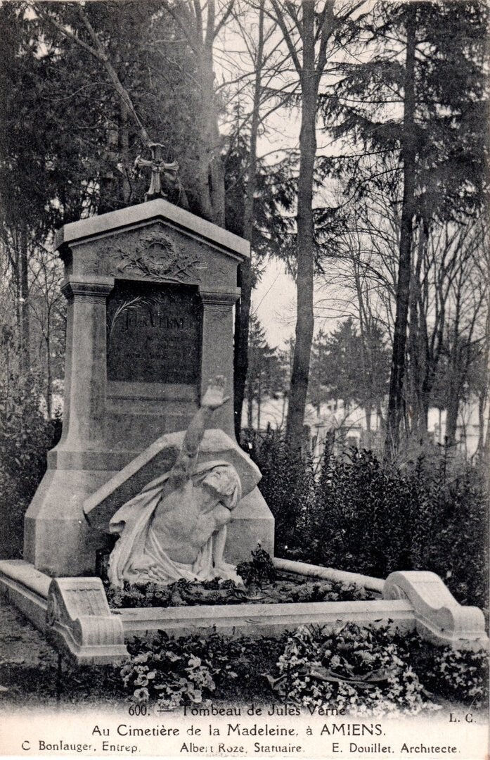 Tomb of Jules Vernes