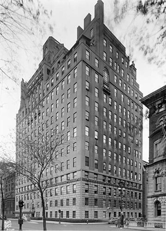 834 5th Avenue and 64th Street, N.E. corner. Fifteen-story apartments.
