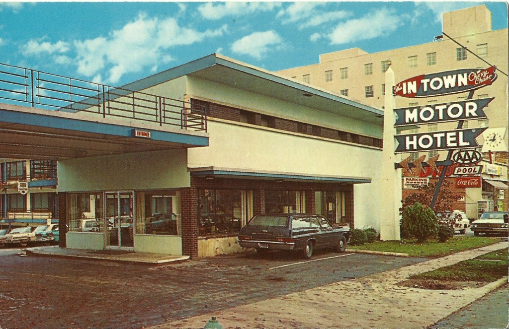 In Town Motor Hotel. Chevy Chase, Maryland