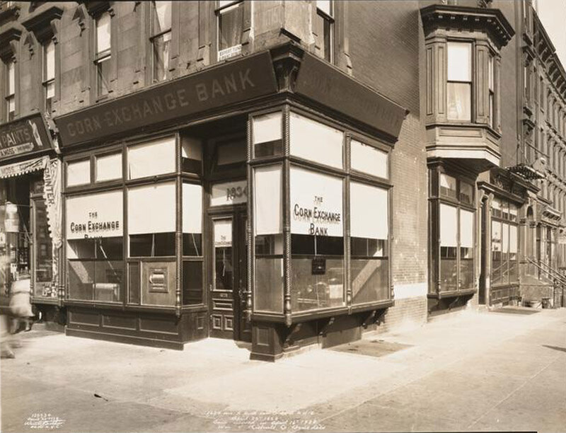 1634 Ave. A North-east Cor. 86 St. N.Y.C. Bank moved in April 16 1928